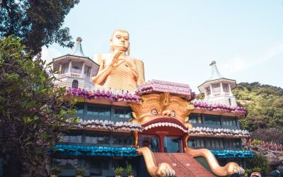 Visit the Dambulla Cave Temple in Sri Lanka