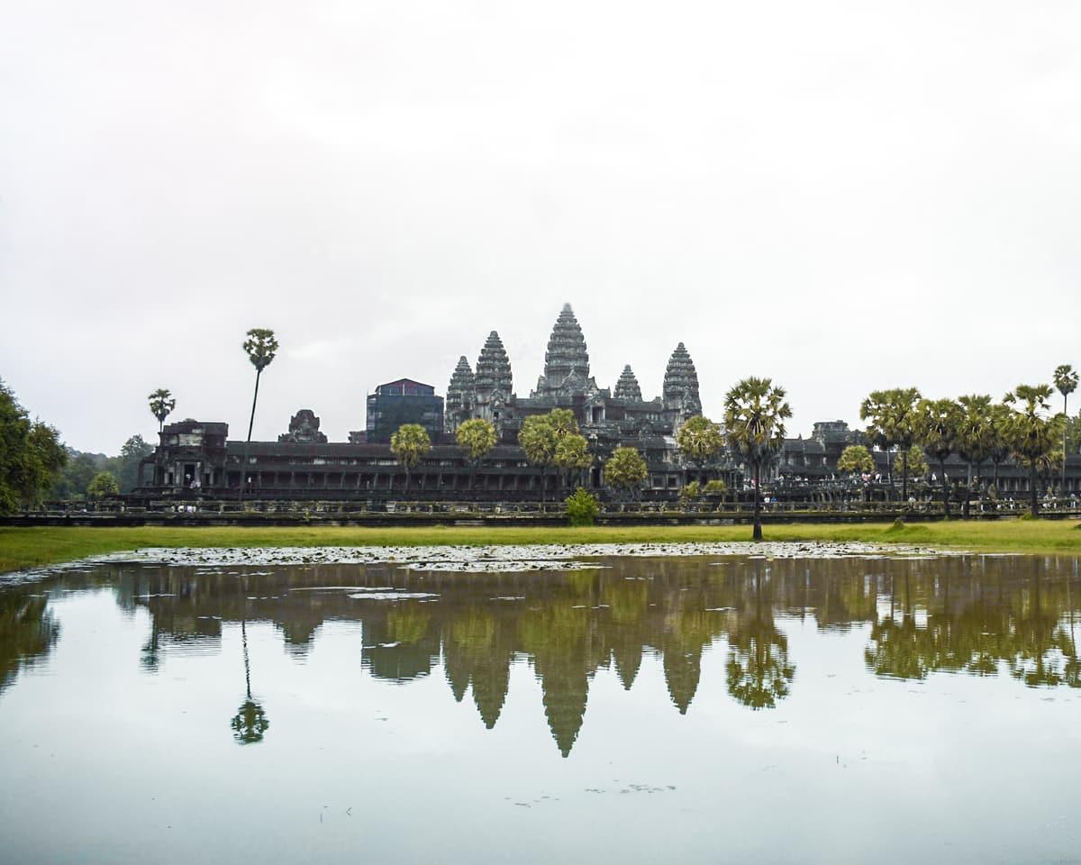 Cambodia - Angkor Wat Temple - Sunrise temple