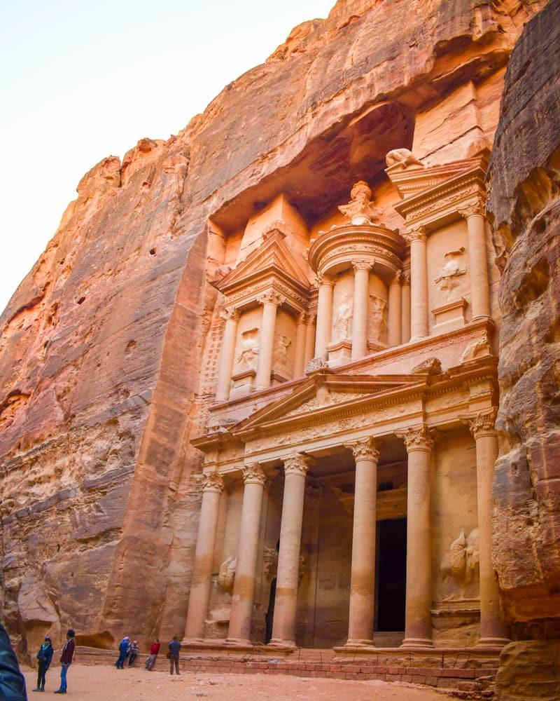 Jordan - Petra - Al Khazneh Treasury