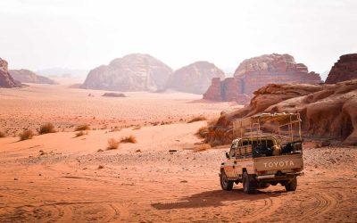 Camping Inside Wadi Rum Desert, Jordan